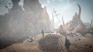 Ascent Infinite Realm Wallpaper ship graveyard 02