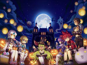 Elsword Wallpaper Halloween