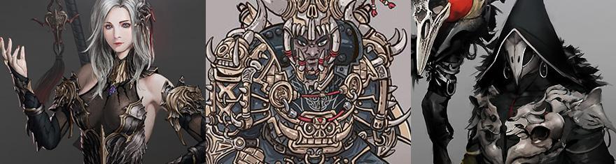 Character Design Competition 2018 : Black desert online reveals global costume design