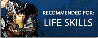 Recommended Games Life Skills Banner