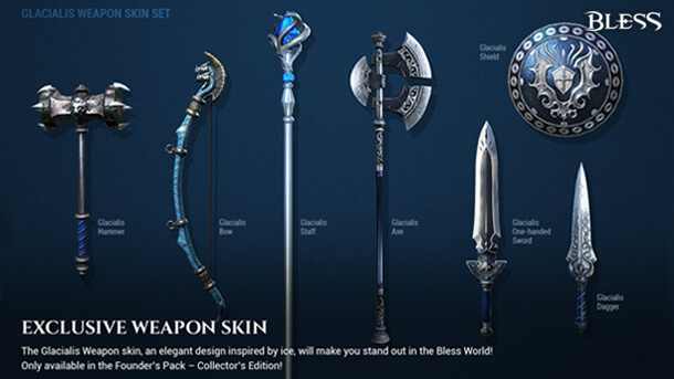 Bless-Online-Weapon-Skins-Founders-Packs