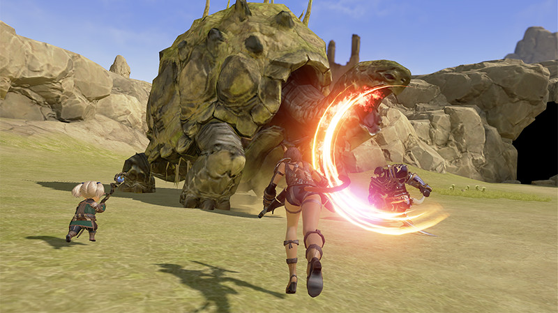 Final-Fantasy-XI-Mobile-FFXIM-Game-Screenshot-Boss-Fight