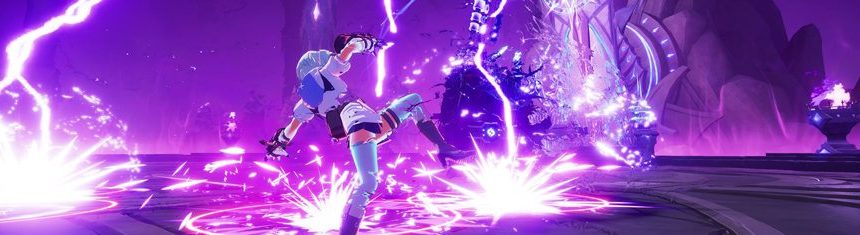 KurtzPel-Bringer-of-Chaos-Shows-Off-Screenshots-Of-New-Burning-Fist-Combat-Class-Against-Magical-Purple-Boss