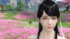 Moonlight-Blade-Mobile-Screenshot-Gameplay-Graphics-Girl-Close-Up