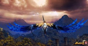 The-Mythical-Realm-仙侠世界2-Screenshot-Blue-Wings