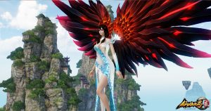 The-Mythical-Realm-仙侠世界2-Screenshot-Revelation-Wings