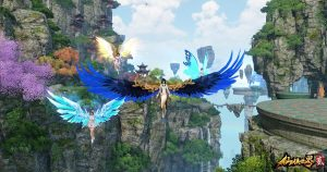 The-Mythical-Realm-仙侠世界2-Screenshot-Wings