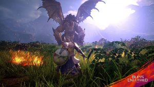 Bless-Unleashed-Guardian-Fight-Dragon-Boss-Combat-In-UE4-Graphics