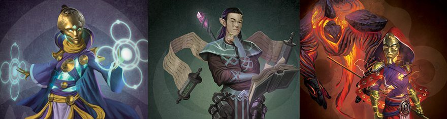 Pantheon-Rise-of-the-Fallen-New-Classes-Wizard-Summoner-Enchanter-Types