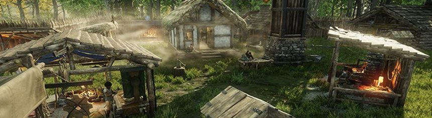 New-World-Alpha-In-game-Gameplay-Footage-Of-Character-Running-Around-Environment-of-Map-Winsward