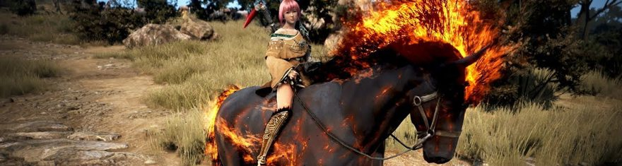 Black Desert Online Releases 'Doom' Dream Horse Mount