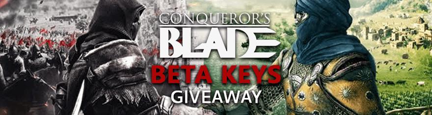 Conqueror's Blade Free Closed Beta Test Access Keys Giveaway (NA Region) (No Keys Left)