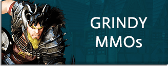 Grindy MMOs Banner