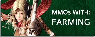 MMORPG & MMO Games With Farming
