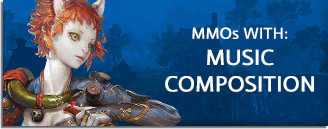MMORPG & MMO Games With Player-Made Music Composition & Instruments