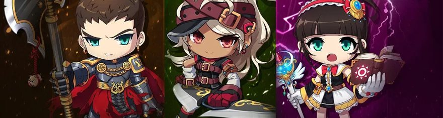 Mobile MMORPG MapleStory M Introduces Three New Explorer Classes