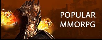 Popular MMORPG & MMO Games Banner