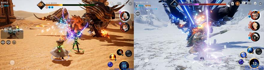 Korean Mobile MMORPG TERA Hero Reveals Launch Date